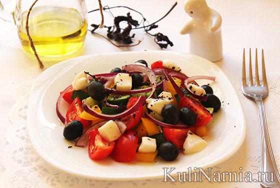 чем заправить греческий салат