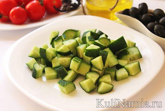 что входит в греческий салат