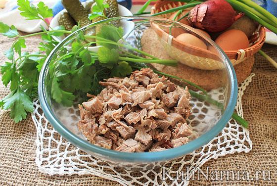 как готовить оливье салат