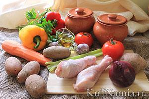 как приготовить блюдо в горшочках
