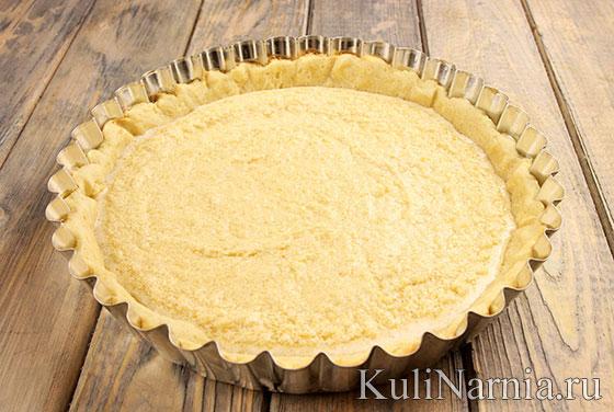 Как приготовить тарт с миндальным кремом