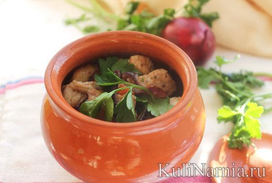 мясо по-французски рецепт со свининой и картошкой