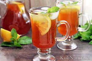 Холодный чай рецепт с имбирем