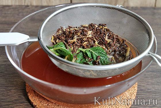 чай с молоком и имбирем для похудения