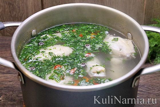 как готовить куриный суп рецепт