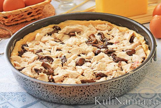 лоранский пирог рецепт с фото