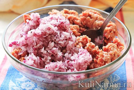 начинка для беляшей из мяса