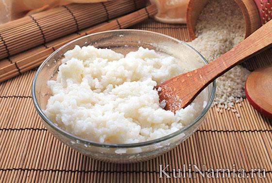 рис для суши как готовить