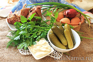 состав салата оливье