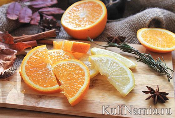 глинтвейн с апельсином рецепт