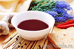гранатовый соус рецепт