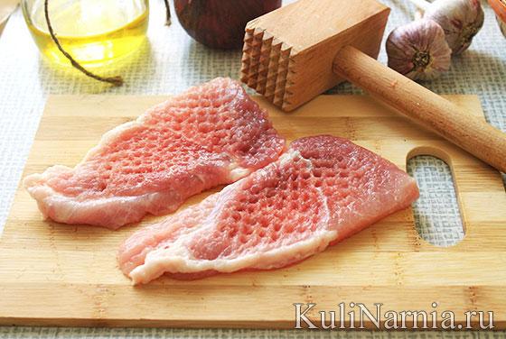 как делать мясо по-французски