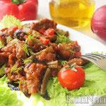 Мясо в кисло-сладком соусе (говядина)