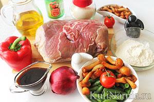 мясо в кисло-сладком соусе рецепт