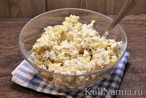 Салат столичный рецепт с курицей