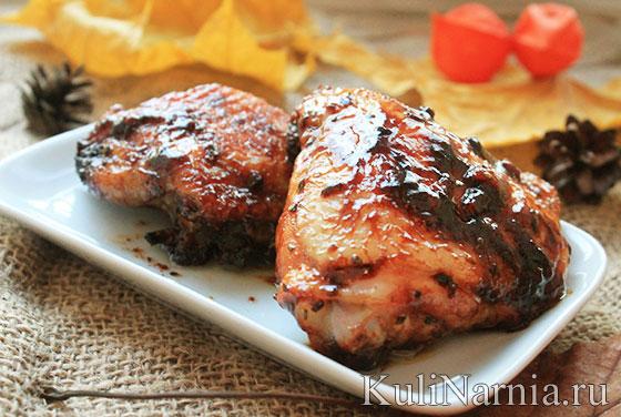 куриные бедра в соевом соусе