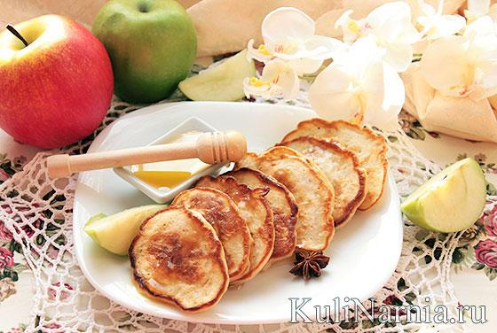 Яблочные оладьи в духовке рецепт с фото пошагово