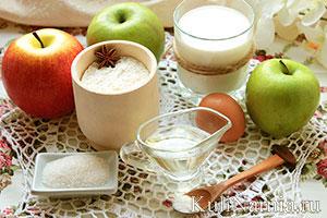 как приготовить оладьи из яблок