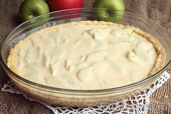 как приготовить цветаевский яблочный пирог