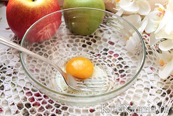 как сделать яблочные оладьи