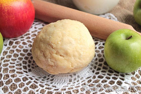 как сделать яблочный цветаевский пирог