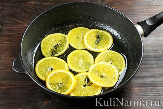 Пирог-перевертыш с апельсинами рецепт