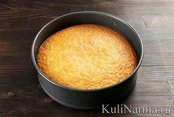 Пирог-перевертыш с апельсинами с фото