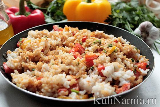 рис по-тайски рецепт