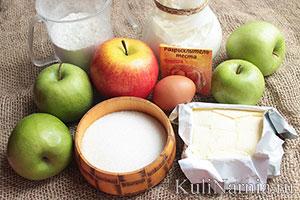 цветаевский пирог с яблоками состав