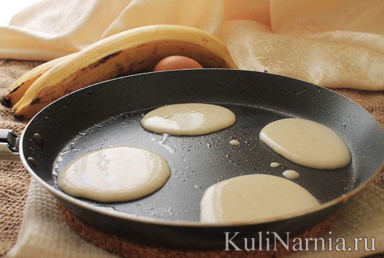 как приготовить оладьи из бананов