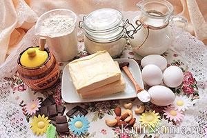 Медовый торт ингредиенты