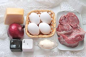 Салат мужской каприз с говядиной состав