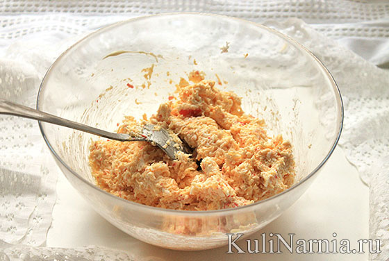Сырные рафаэлло рецепт