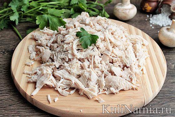 Как приготовить жюльен из грибов и курицы