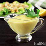 Соус для салата Цезарь — 2 рецепта