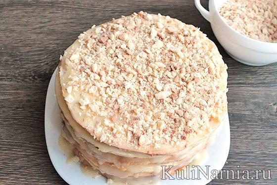 Торт наполеон домашний