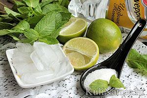 Алкогольный коктейль Мохито состав