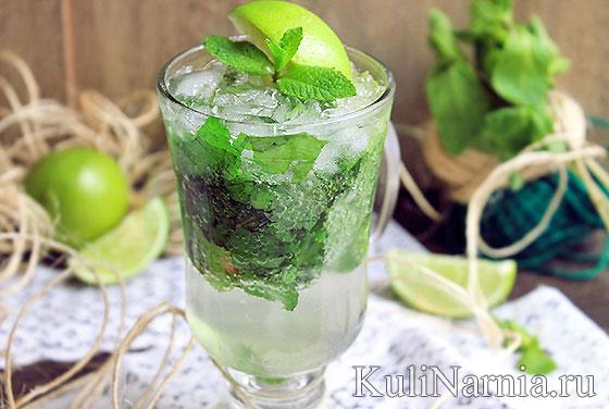 Алкогольный коктейль Мохито