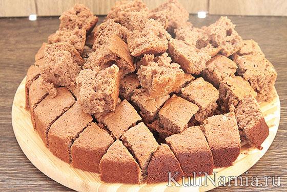 Бисквит для сметанного панчо