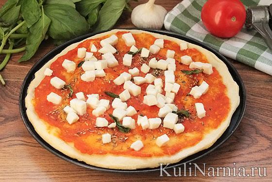 Классическая маргарита пицца