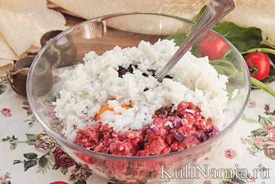 Как сделать тефтели с рисом