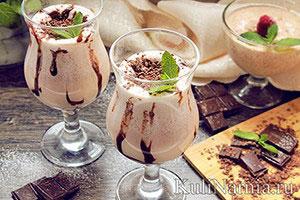 Молочный коктейль рецепт с мороженым