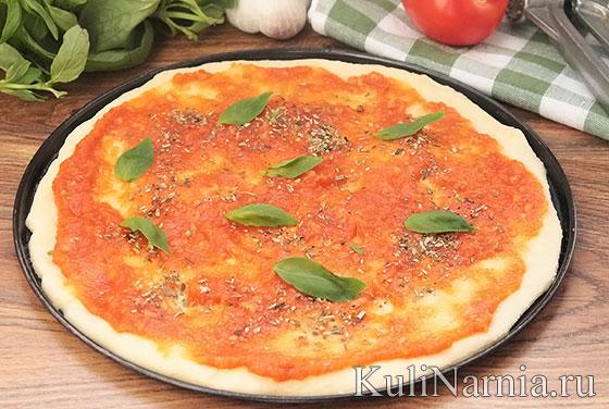 Рецепт пиццы маргарита классический рецепт
