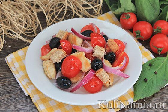 Рецепт салата с куриной грудкой