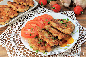 рецепт вкусных котлет из филе куриной грудки