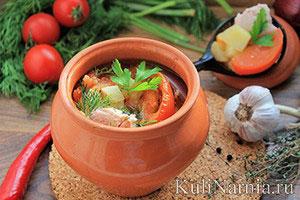 Индейка тушеная с овощами рецепт