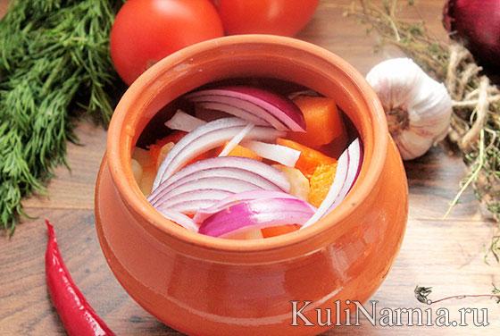 Как потушить индейку с овощами