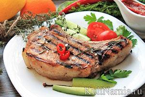 Корейка свиная в духовке рецепт