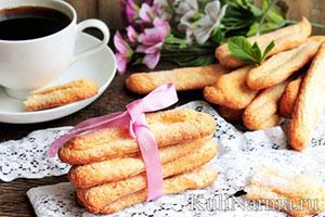 Рецепт печенья савоярди для тирамису