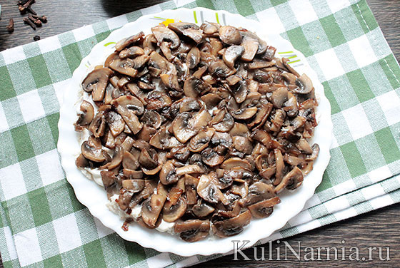 Салат Березка рецепт с фото
